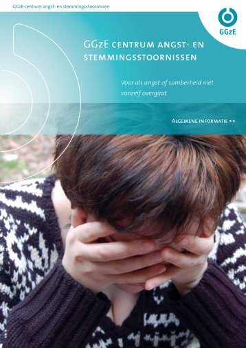 Brochure GGzE centrum angst- en stemmingsstoornissen