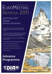 EuroMEEting - Genetic Alliance UK