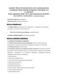 Remont konstrukcji dachu - Gimnazjum nr 2 im. Henryka ...