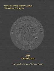 Ottawa County Sheriff's Office - 2009 Annual Report