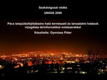 Pécs településfejlődésére ható természeti és társadalmi hatások ...