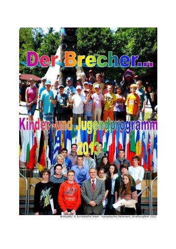 Jugendprogramm 2013 09-11-12 aktuell 1 - Gemeinde Brechen