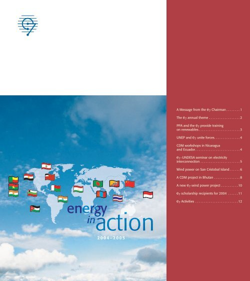 May 2005 PDF - 16 pages - Global Sustainable Electricity Partnership