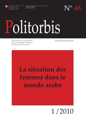 La situation des femmes dans le monde arabe - Service Volontaire ...