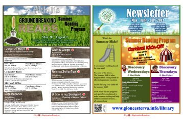 Newsletter - Gloucester County Virginia