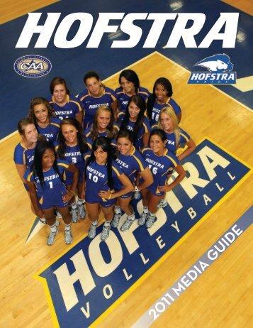 2011 Hofstra Volleyball Media Guide (PDF) - GoHofstra.com