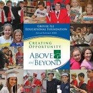 2009 - Grosse Ile Educational Foundation