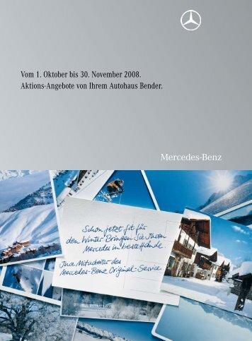 Vom 1. Oktober bis 30. November 2008. Aktions-Angebote von ...