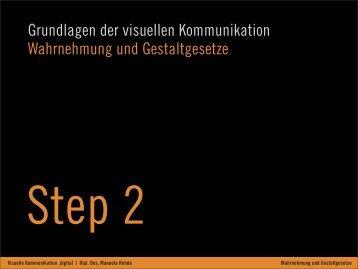 02 Wahrnehmung + Gestaltgesetze