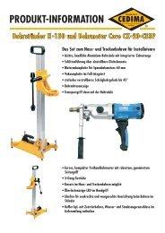PRODUKT-INFORMATION - CEDIMA GmbH