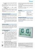 ceas de perete dcf jumbo cu termo/higrometru - German Electronics - Page 3