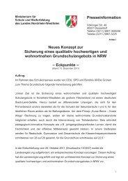 Konzept zur Sicherung einer qualitativ hochwertigen und ... - GEW