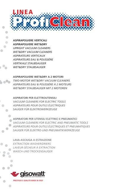 910289ff5a86 Scarica catalogo in formato pdf - Gisowatt