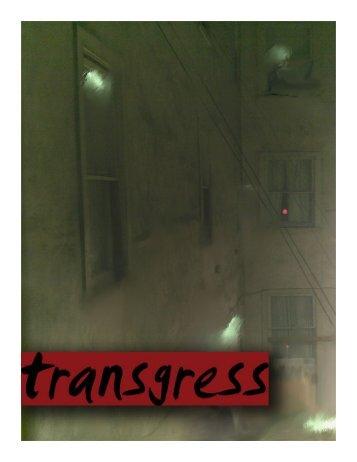 TRANSGRESS - WordPress.com — Get a Free Blog