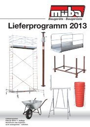 Lieferprogramm 2013
