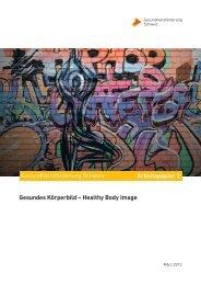 Gesundes Körperbild - Gesundheitsförderung Schweiz