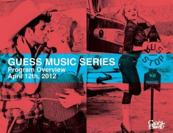 GUESS MUSIC SERIES - Giant Step
