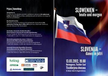 SLOVENIJA – SLOWENIEN –