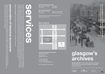Using Archives - Glasgow Life