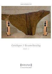 audio physic :: catalogue 2009 - 1