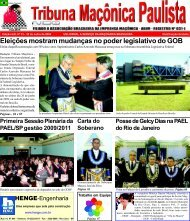 Tribuna Ma onica02 - Grande Oriente do Distrito Federal