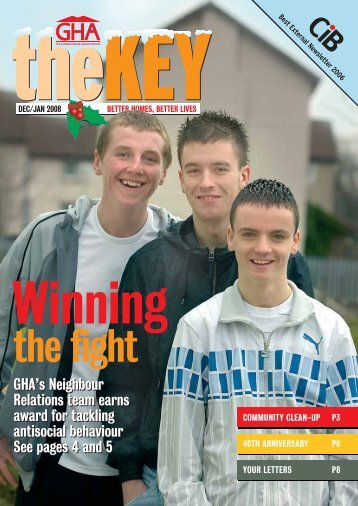 The Key December 2007 - Glasgow Housing Association