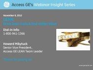 Download Presentation - GE Capital
