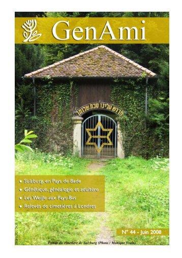 GenAmi n° 44 - juin 2008