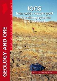 Geology & Ore no. 13, January 2009 - Geus