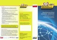 Qualitätszertifikat GESUNDE GEMEINDE - Netzwerk Gesunde ...