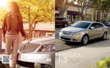 LaCrosse Brochure - GM Canada