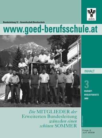 3 - Bundessektion 12 Berufsschullehrer