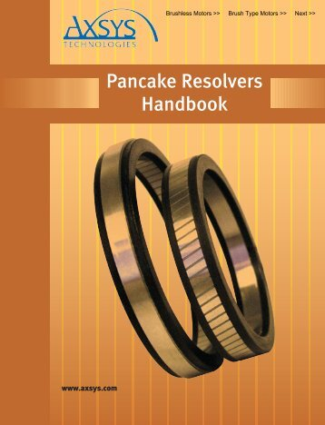 Pancake Resolvers - General Dynamics Global Imaging Technologies
