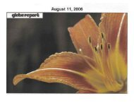 Glebe Report - Volume 36 Number 7 - August 11 2006