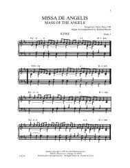 MISSA DE ANGELIS - GIA Publications