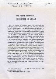 les «sept dormants» apocalypse de uislam - Grand Lodge Bet-El