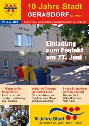 10 Jahre Stadt Der Gera - Gerasdorf