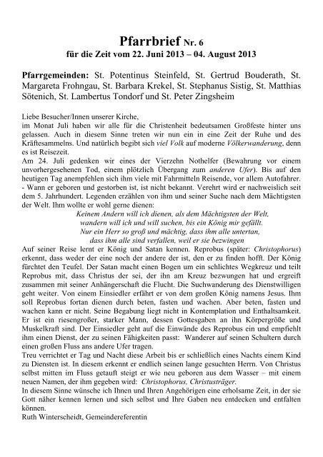 Bekanntschaften in Steinfeld - Partnersuche - Quoka