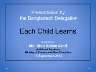 Each Child Learns - Global Partnership for Education