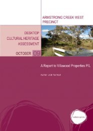 ACW Cultural Heritage Report (PDF - 5.9 MB) - City of Greater ...