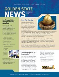 news golden state - The Golden 1 Credit Union