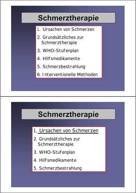 Schmerztherapie & Fatigue