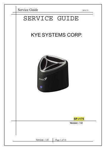 SP-i175 Service Manual.pdf - Genius