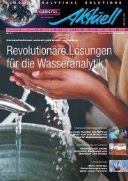 GERSTEL Aktuell Nr. 31 (pdf; 1,07 MB) - Gerstel GmbH & Co.KG