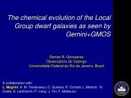 The chemical evolution of the Local Group dwarf galaxies as seen ...