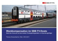 Wankkompensation im SBB FV-Dosto - gdi