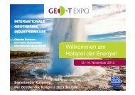 Präsentation - Geothermie