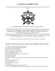 L' ETOILE FLAMBOYANTE - Grand Lodge Bet-El