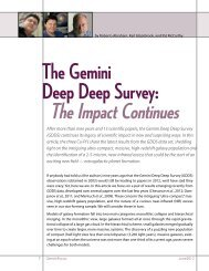 The Gemini Deep Deep Survey: - Gemini Observatory