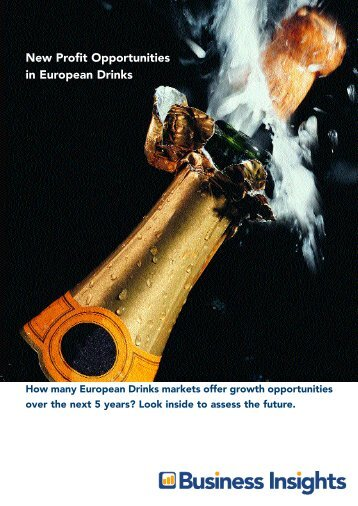 New Profit Opportunities in European Drinks - Business Insights